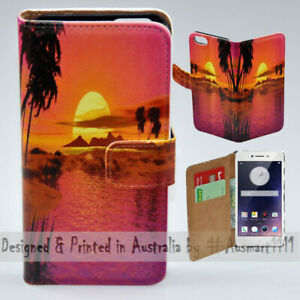 For-OPPO-Series-Summer-Sunset-Theme-Print-Wallet-Mobile-Phone-Case-Cover