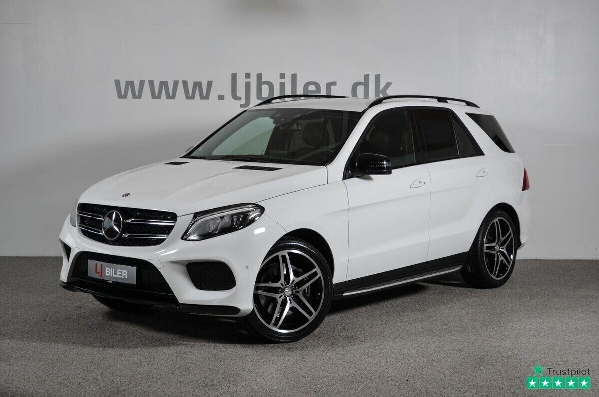 Mercedes GLE350 d 3,0 AMG Line aut. 4-M 5d - 749.800 kr.