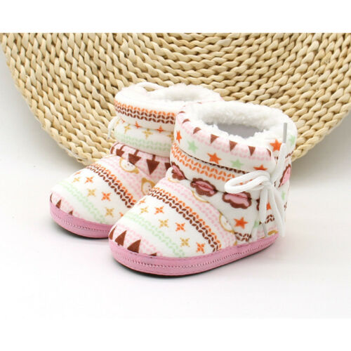 Winter Warm Boots Baby Girl Boy Boots Soft Soled Newborn Infant First Walkers