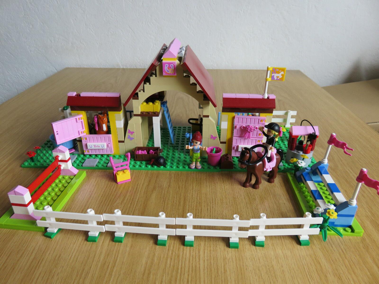 Lego Friends 3189 Pferdestall mit Aufbauanleitung komplett komplett komplett 652d57