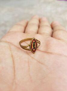 Vintage Beautiful Tribal Rajasthani Brass Ring