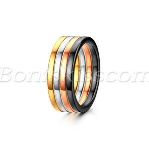 4pcs-Women-Girls-Stainless-Steel-Knuckle-Stacking-Rings-Wedding-Engagement-Band