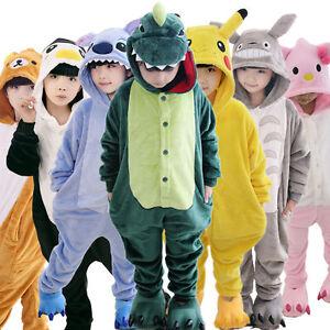 Kids-Pajamas-Pikachu-Kigurumi-Unisex-Cosplay-Animal-Costume-Sleepwear-Halloween