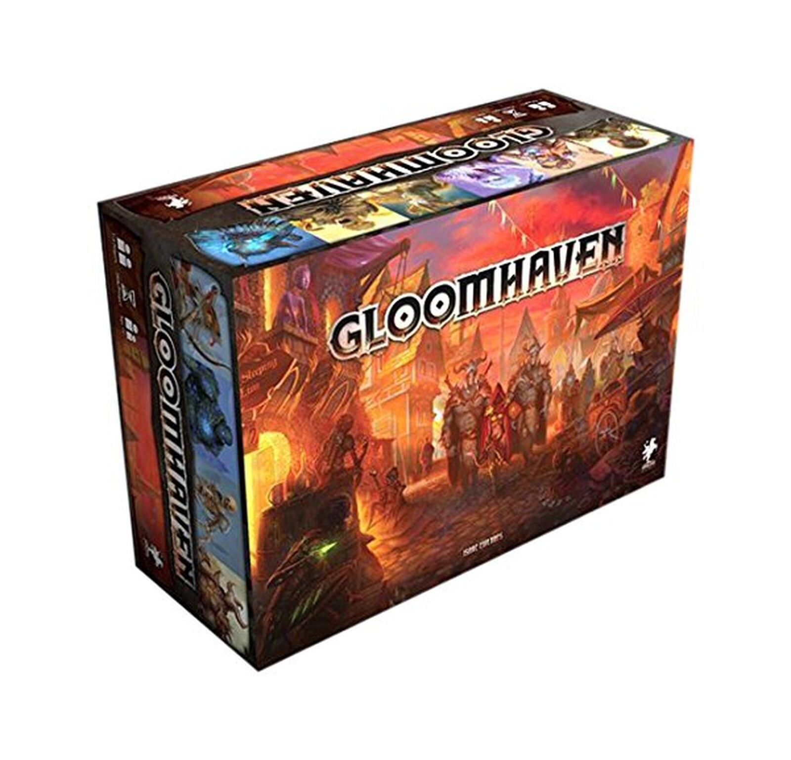 Cephalofair Traditional Board Games Gloomhaven Menacing Dungeon 1 4 Players New