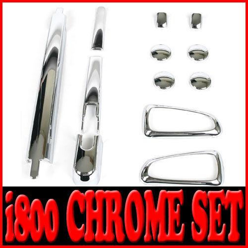 Chrome Exterior Cover Trim 12p For Hyundai i800 H1 iMax
