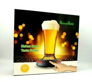 HowseHold-Lager-Beer-Foamer-Surger-Unit-Sonic-Beer-Foamer-Perfect-Head-Frother