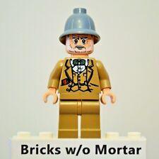 New Genuine LEGO Henry Jones Sr. Minifig Indiana Jones 7198