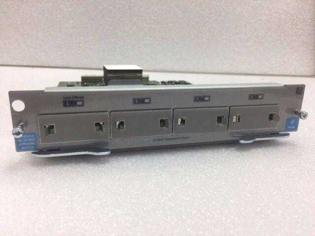 j8707a J8707a HP Procurve Switch ZL 4-Port 10-gbe modulo x2