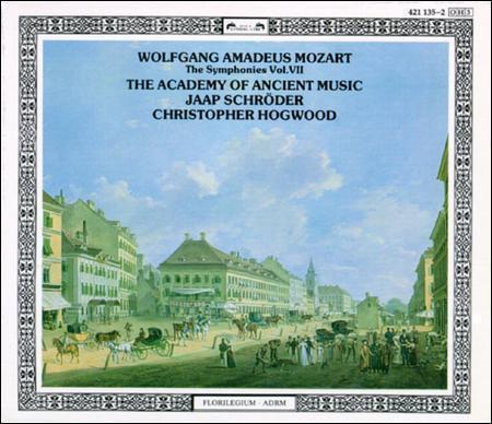 Wolfgang Amadeus Mozart: The Symphonies Vol. VII -