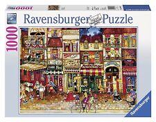 RAVENSBURGER PUZZLE*1000 TEILE*STREETS OF FRANCE*RARITÄT*OVP