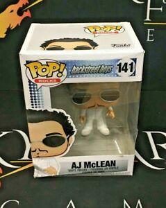 AJ McLean DAMAGED BOX Vinyl Figure 141 Backstreet Boys Funko POP!
