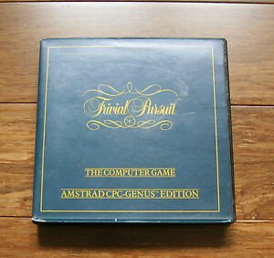 TRIVIAL PURSUIT The Computer Game  Amstrad CPC Genus Edition - <span itemprop=availableAtOrFrom>Nottingham, United Kingdom</span> - TRIVIAL PURSUIT The Computer Game  Amstrad CPC Genus Edition - Nottingham, United Kingdom