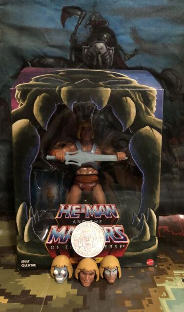 MOTU Club Grayskull Filmation He-Man 2.0 bundle