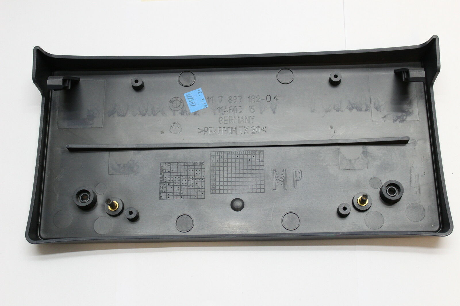 Genuine BMW E60 E61 M Package Base Number Plate Cover Number Plate Holder J
