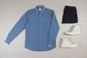 Norse-Projects-shirt-bleu-Petit