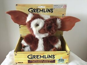 NECA Gremlins Gizmo Singing /& Dancing Plush with Sound Mogwai Soft Toy Official