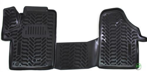RMME310 3D Gummimatten Gummifußmatten MERCEDES VITO W447 ab 2014 2tlg für vorne
