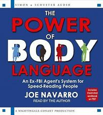 NEW 6 CD The Power of Body Language by Joe Navarro