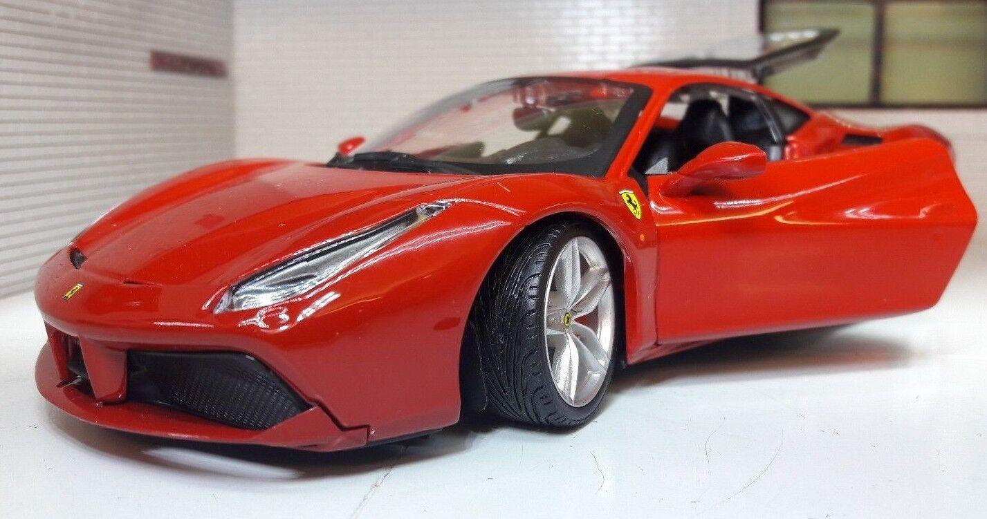 LGB G Scale 1 24 2015 Ferrari 488 GTB Berlinetta Very Detailed Diecast Model Car