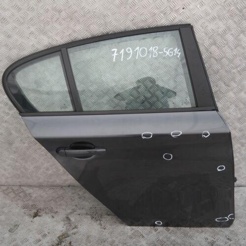 A22 BMW 1 SERIES 14 E87 E87N Door rear right O//S Sparkling Graphite Metallic