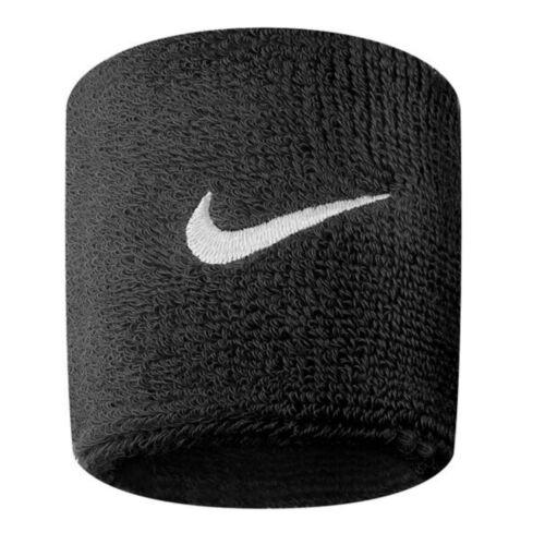 Nike Swoosh Sports Sweat Wristbands One Pair Stretch Tennis Fitness Sweatbands