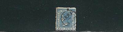 sc 53 2d Blau Intellektuell Australien Neu South Wales Nsw 1871-84 Qv Eisenbahn Stempel