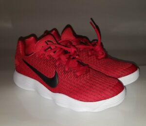 c1d605d125e9 Nike React Hyperdunk 2017 Low Youth Shoes Size 4y Red Basketball