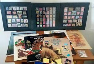 Stamps Collection Lot Mint Sets Vintage Unused & More