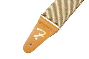 """Genuine Fender? 2"""" Vintage Tweed Guitar Strap 099-0687-000"""