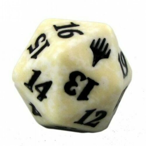 Life Counter DICE Duel Deck WHITE DICE mtg Spindown