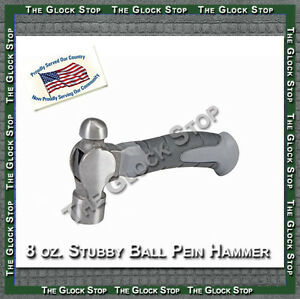 8-oz-Stubby-Ball-Pein-Hammer-Perfect-for-Installation-of-Colt-1911-Front-Sight