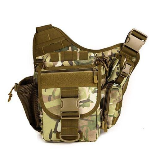 Waterproof Nylon Camera Bag Outdoor Multi-function Crossbody Bag Tactical Pouch