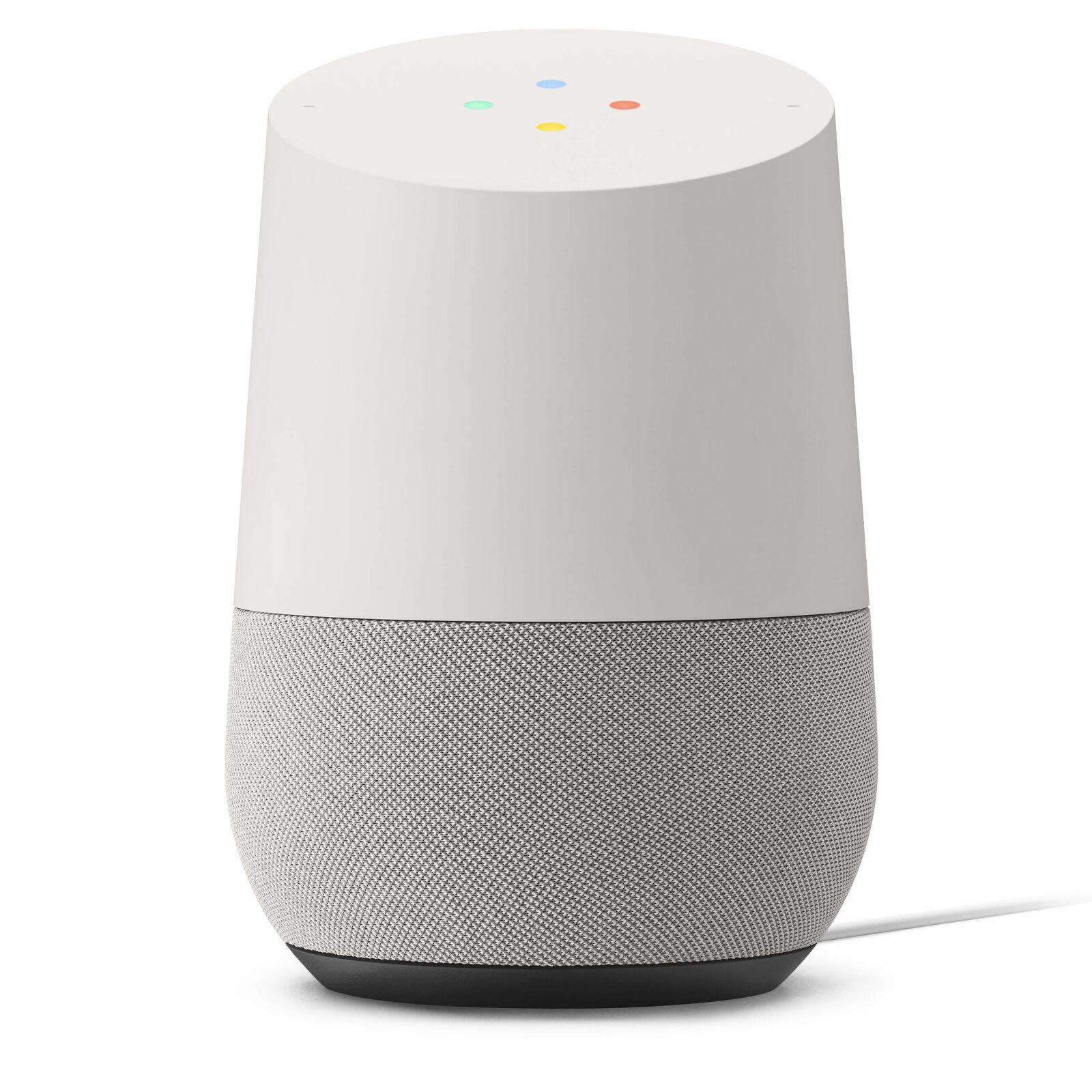 Google Home - White Slate Personal Assistant - Tested Working   O6596