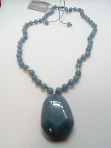 LOLA-ROSE-TESSI-Pendant-Necklace-Blue-Quartzite-Adjustable