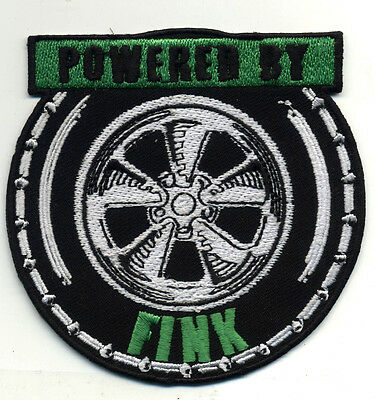"""OFFICIALLY LICENSED ED /""""BIG DADDY/"""" ROTH RAT FINK TRIXIE FINK HOT ROD RACER PATCH"""
