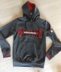 Dsquared2 Neu Pullover Herren Pullover Strick Herrenmode Jumper Black Sweatshirt