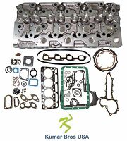 Kumarbros Usa Bobcat S185 Kubota V2203 complete Cyl Head & Full Gasket Set