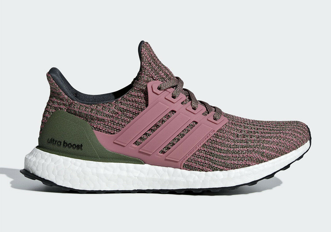 Adidas Original Women's UltraBoost NEW AUTHENTIC Maroon Green White BB6495 SZ 10