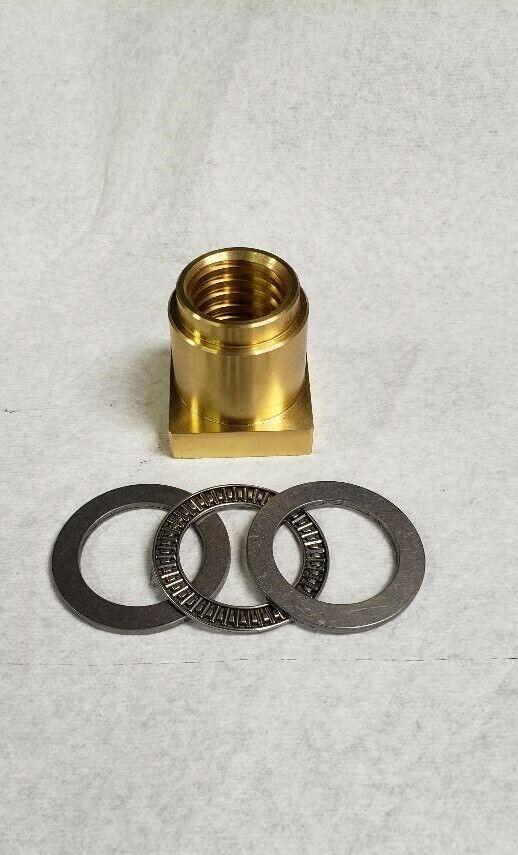 Hobart Mixer 80 M802 V1401 140 Brass Bowl lift Nut thrust bearings #00-068322.