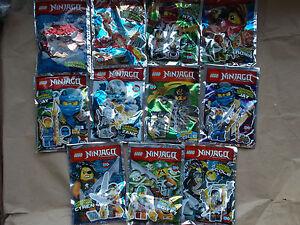 New lego ninjago foil pack minifigure weapon or mini set - Ninjago les 4 armes d or ...