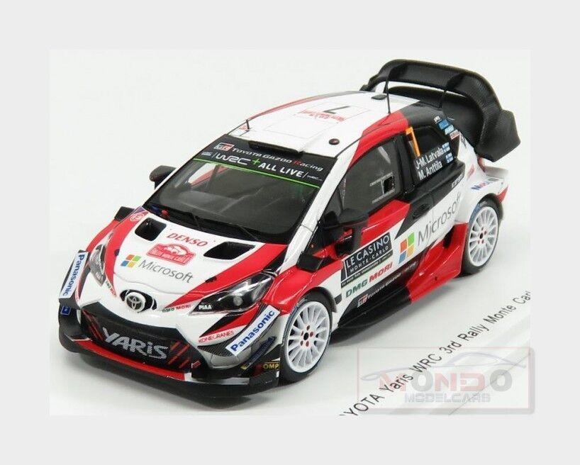 Toyota Yaris Wrc Gazoo Wrt Rally Montecarlo 2018 Latvala SPARK 1 43 S5957