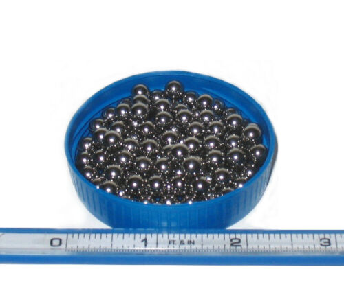 1//4 INCH BALLS AISI52100 STEEL DAMASCUS CANNISTER FORGING FOR BILLETS 1//2 LB
