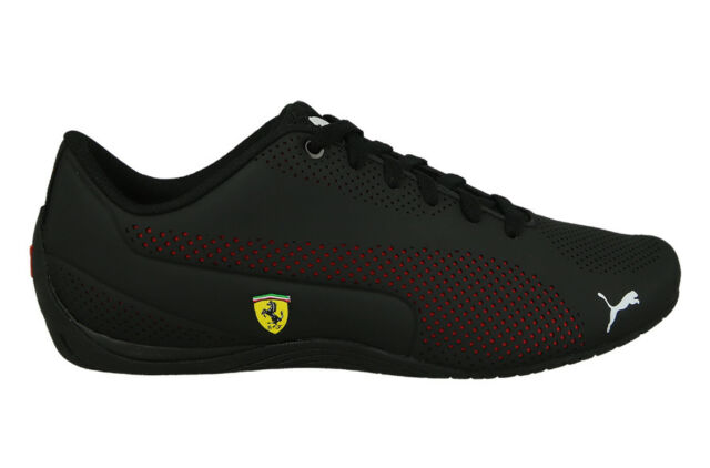 df27bec8a PUMA Ferrari Drift Cat 5 Ultra SF Shoes Scuderia Sneaker Black CORSA ...