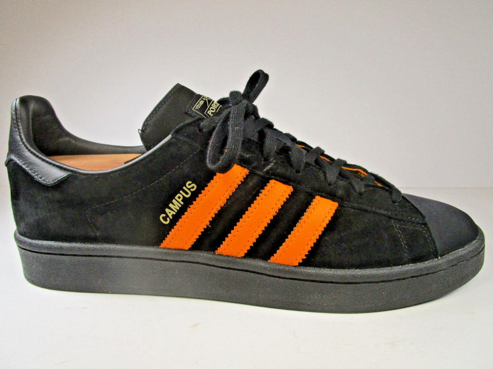 Adidas porter mens scarpe taglia taglia taglia 10,5 arte b28143 yoshida in giappone campus velluto nero | Vendita  | Uomini/Donne Scarpa  9077ca