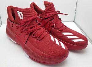 08f50ece3779 Adidas SM Dame 3 NBA NCAA Mens Basketball Shoes ART CQ0288 Red 12 M ...