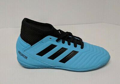 Adidas Predator 19.3 Indoor Soccer Shoes, Blue/Black, Little Kids 2 M | eBay