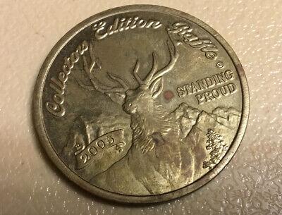 Rocky Mountain Elk Foundation tokens medallion 2002 coin RMEF Raffle
