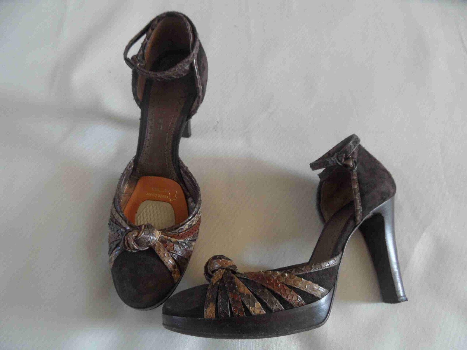 THE SELLER chice High Heels mit Fesselriemen Gr. 36  TOP AO3