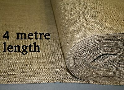 18oz Natural Hessian Fabric 1.8m wide x 4 metre length