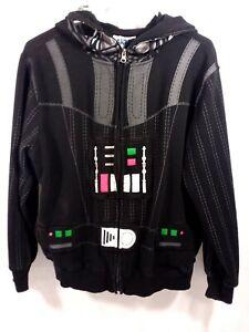Star-Wars-Darth-Vader-Hoodie-Youth-XL-Zip-Jacket-Zipper-Front-Hood-Mask-2-19